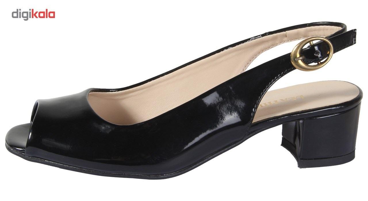 کفش چرم زنانه  شهرچرم مدل 1-885 -  - 2