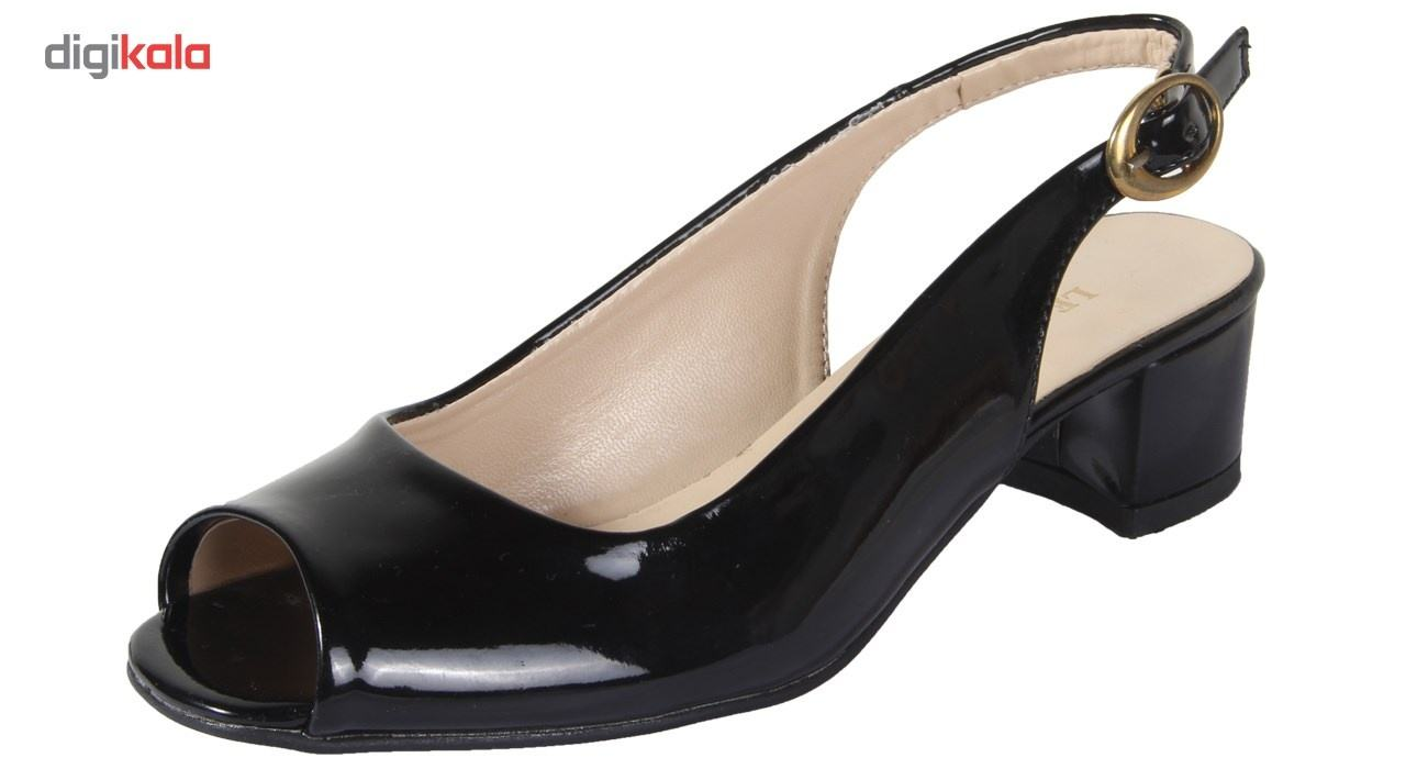 کفش چرم زنانه  شهرچرم مدل 1-885 -  - 3