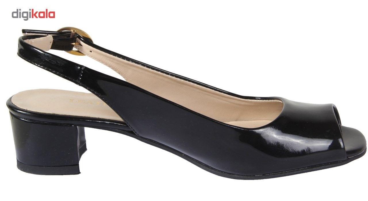 کفش چرم زنانه  شهرچرم مدل 1-885 -  - 5