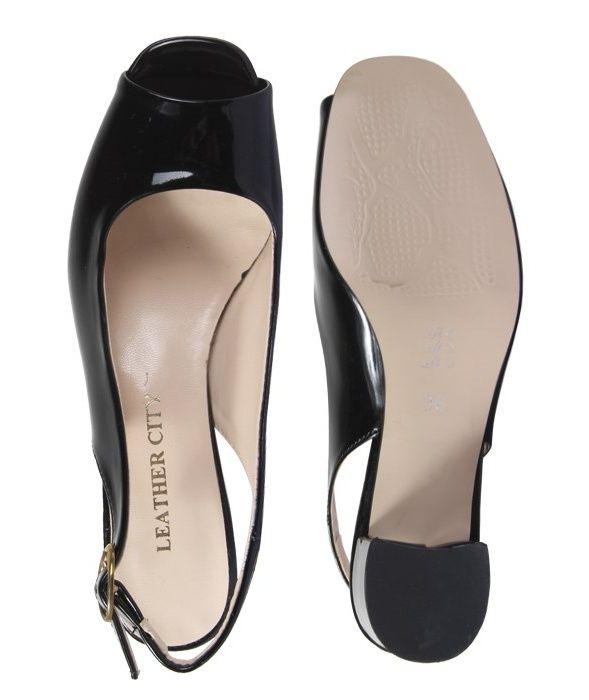 کفش چرم زنانه  شهرچرم مدل 1-885 -  - 6
