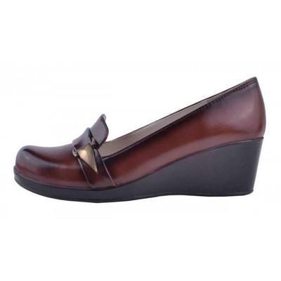 تصویر کفش چرم لژدار  زنانه آریوان مدل ARZ518A