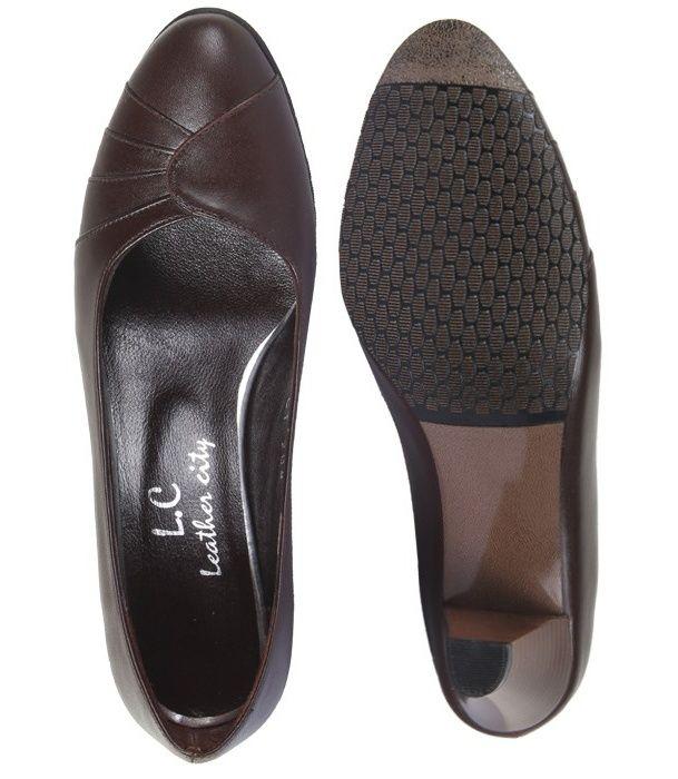 کفش چرم زنانه  شهرچرم مدل 3-39222 -  - 4