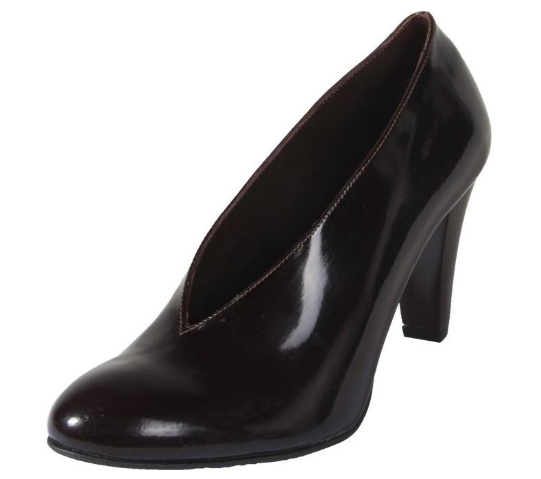 کفش چرم زنانه  شهرچرم مدل 3-39181
