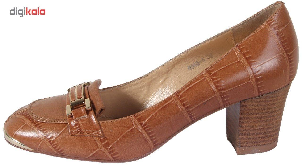 کفش چرم زنانه شهر چرم مدل 6-5-6948 -  - 2