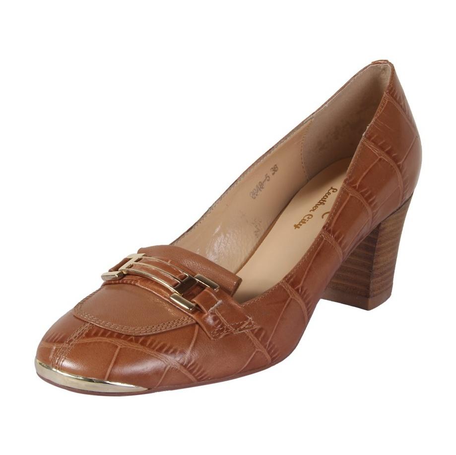 کفش چرم زنانه شهر چرم مدل 6-5-6948 -  - 3