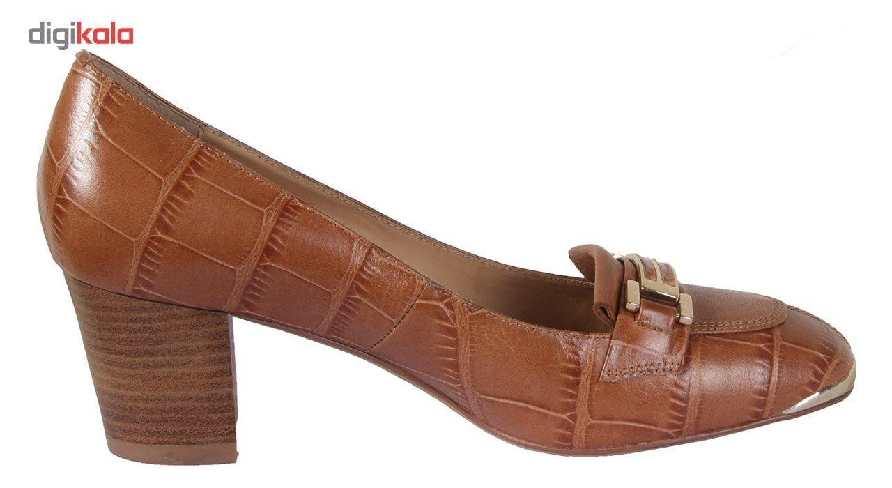 کفش چرم زنانه شهر چرم مدل 6-5-6948 -  - 5