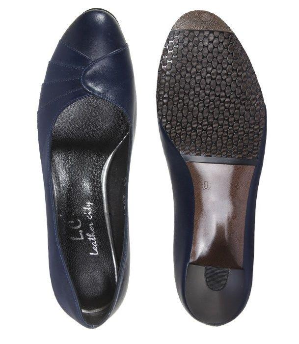 کفش چرم زنانه  شهرچرم مدل 13-39222 -  - 6