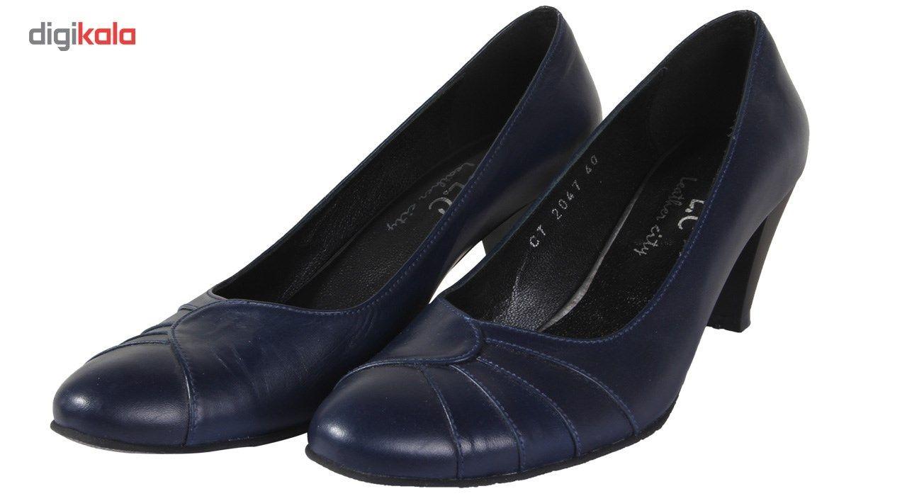 کفش چرم زنانه  شهرچرم مدل 13-39222 -  - 4
