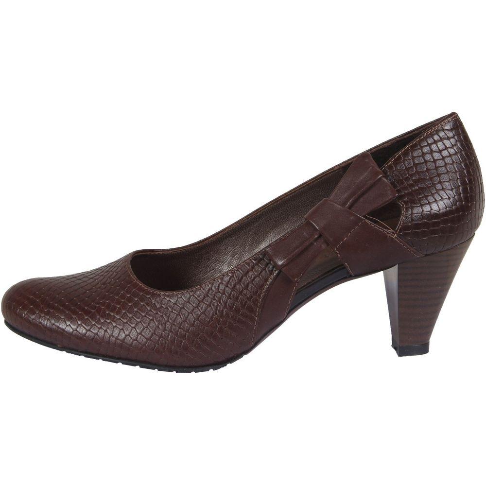 کفش چرم زنانه  شهرچرم مدل 3-39101
