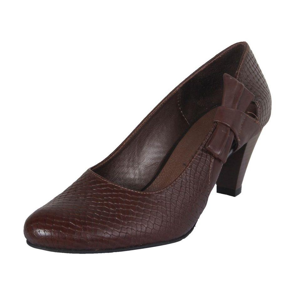 کفش چرم زنانه  شهرچرم مدل 3-39101 -  - 3