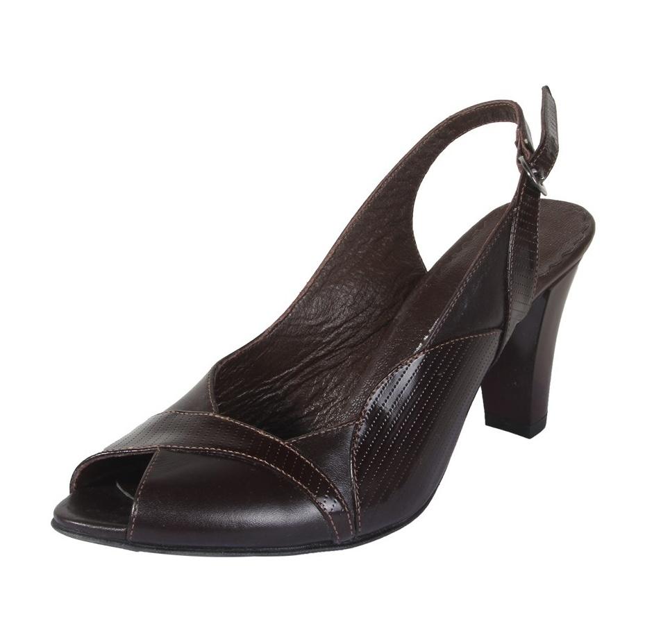 کفش چرم زنانه  شهرچرم مدل 3-39233 -  - 3