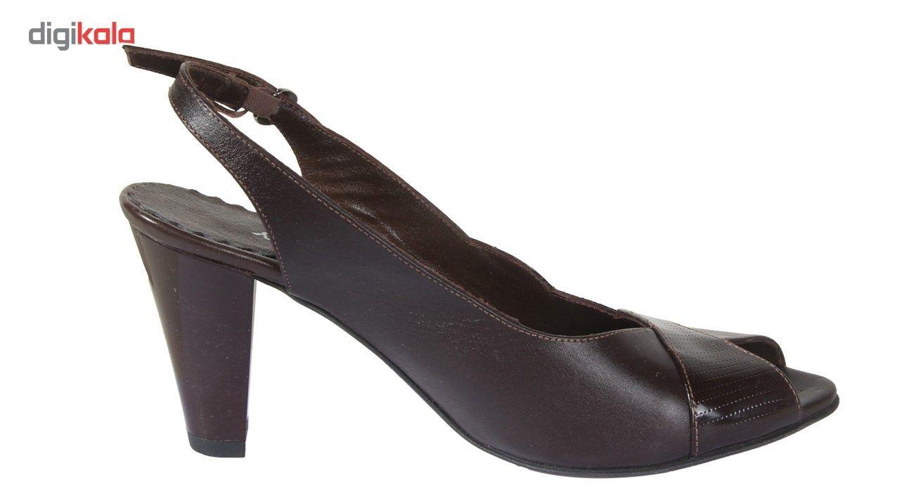 کفش چرم زنانه  شهرچرم مدل 3-39233 -  - 5
