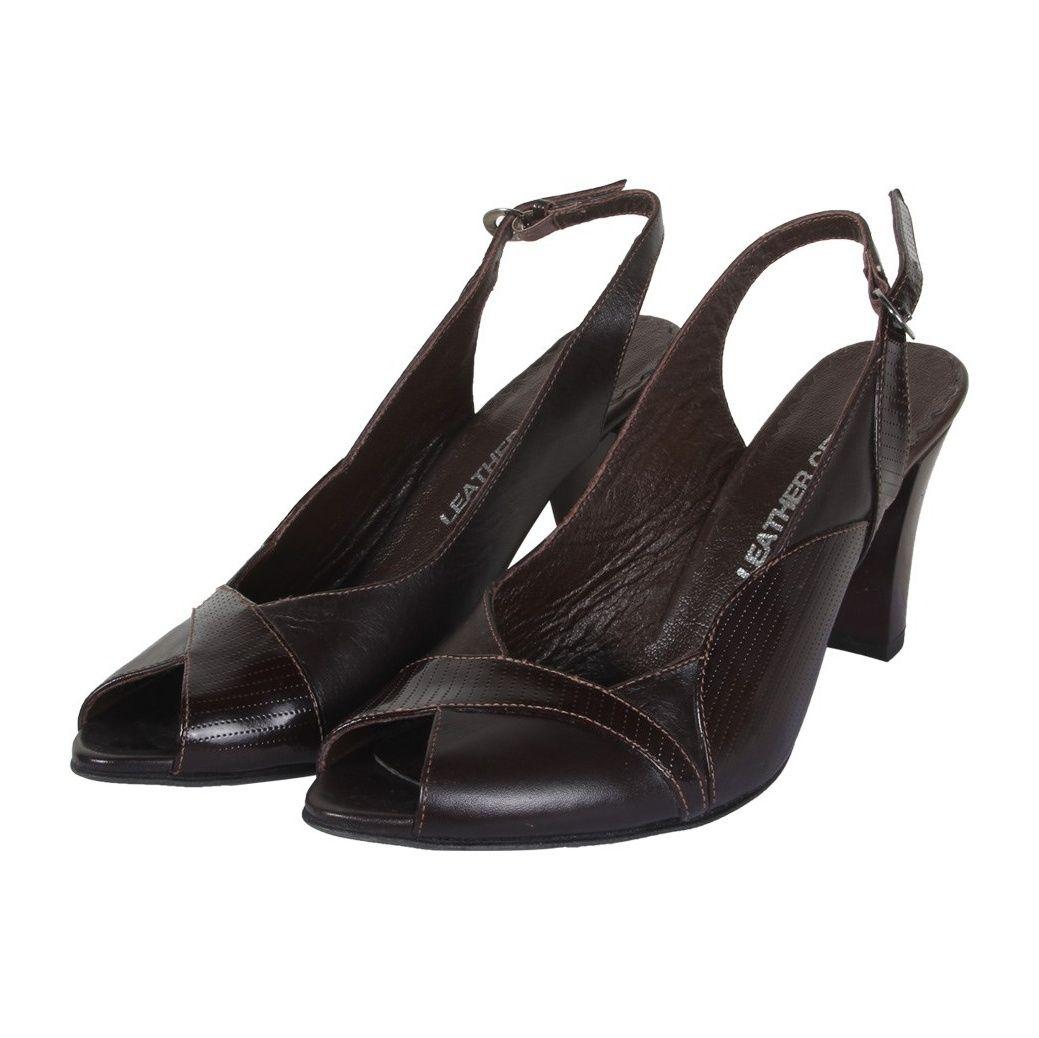 کفش چرم زنانه  شهرچرم مدل 3-39233 -  - 4