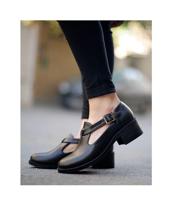 کفش چرم  زنانه آریوان مدل ARZ521M main 1 4