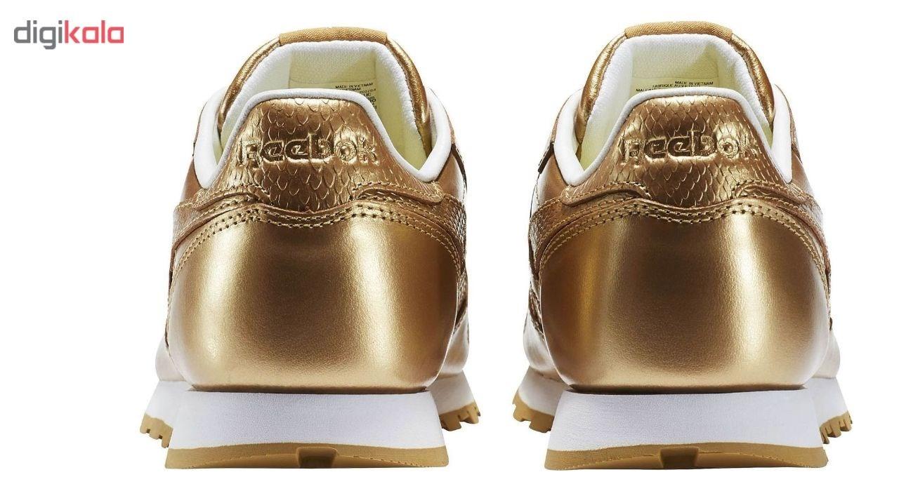 کفش راحتی نه ریباک مدل  Classic Leather Metallic