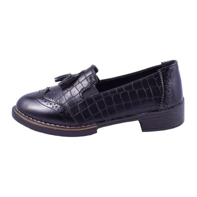 تصویر کفش زنانه کالج مدل سنگی کد4887