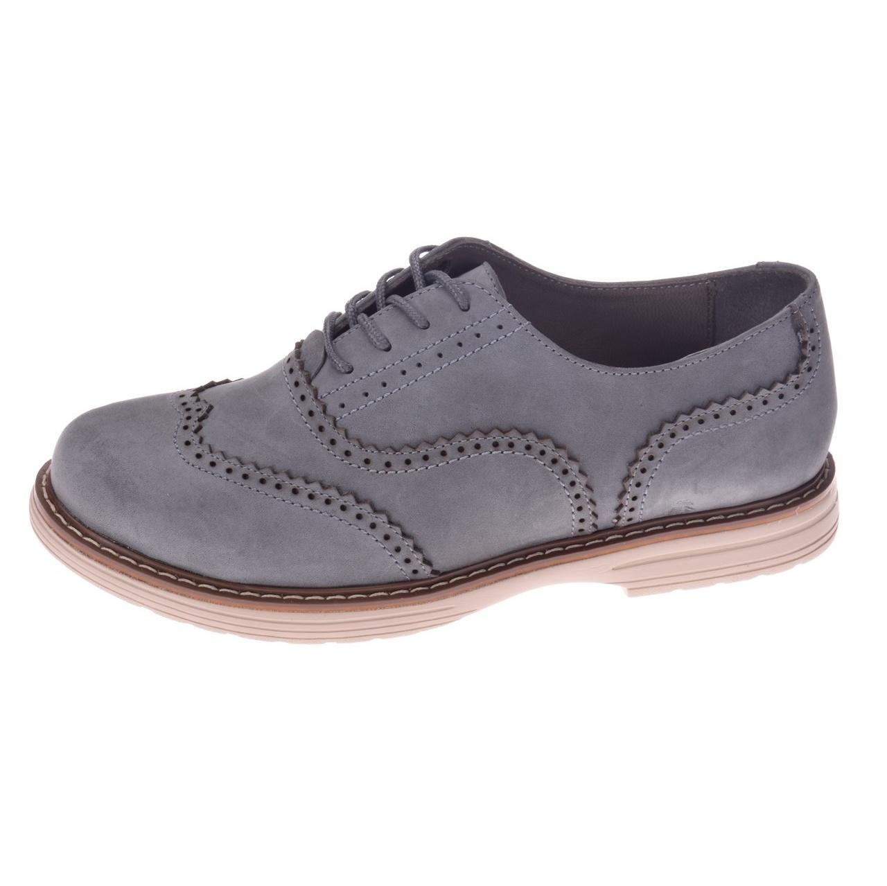 کفش چرم زنانه پانیسا مدل 711Gray