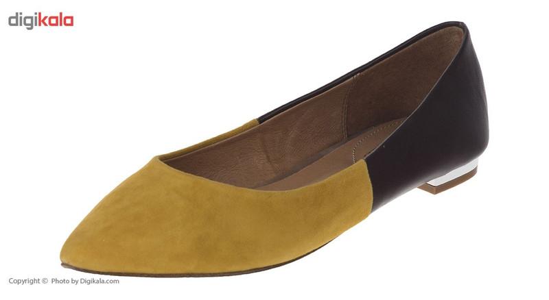 کفش زنانه سارا جونز مدل Valentina Yellow