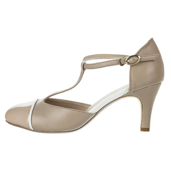کفش  زنانه ایزان کالاس مدل  Strap Pump Baige