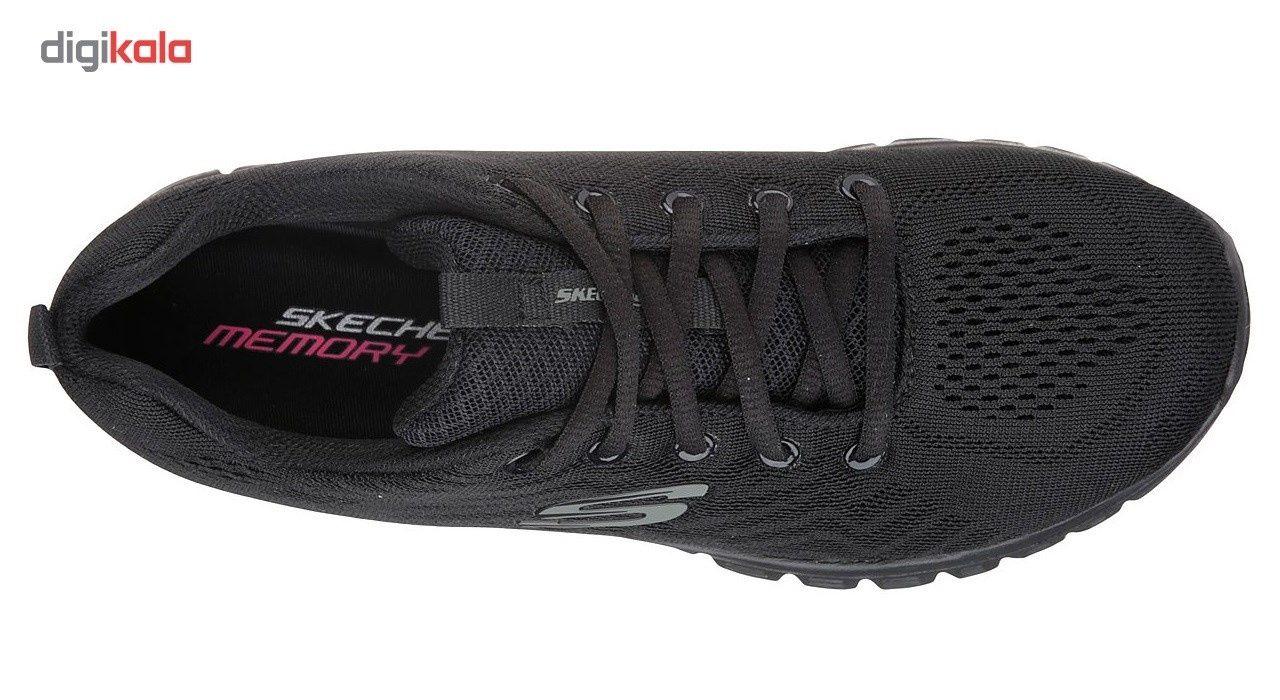 کفش مخصوص دویدن نه اسکچرز مدل12615BBK