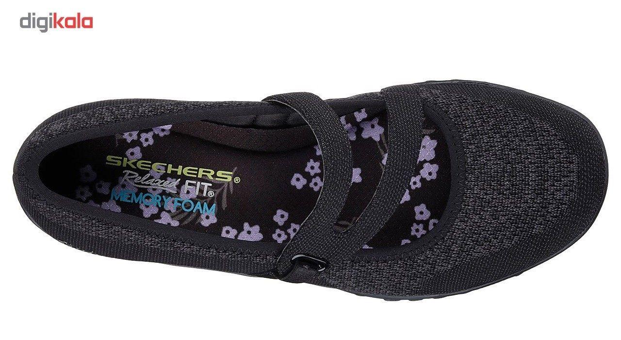 کفش راحتی زنانه اسکچرز مدل 23005BLK -  - 3