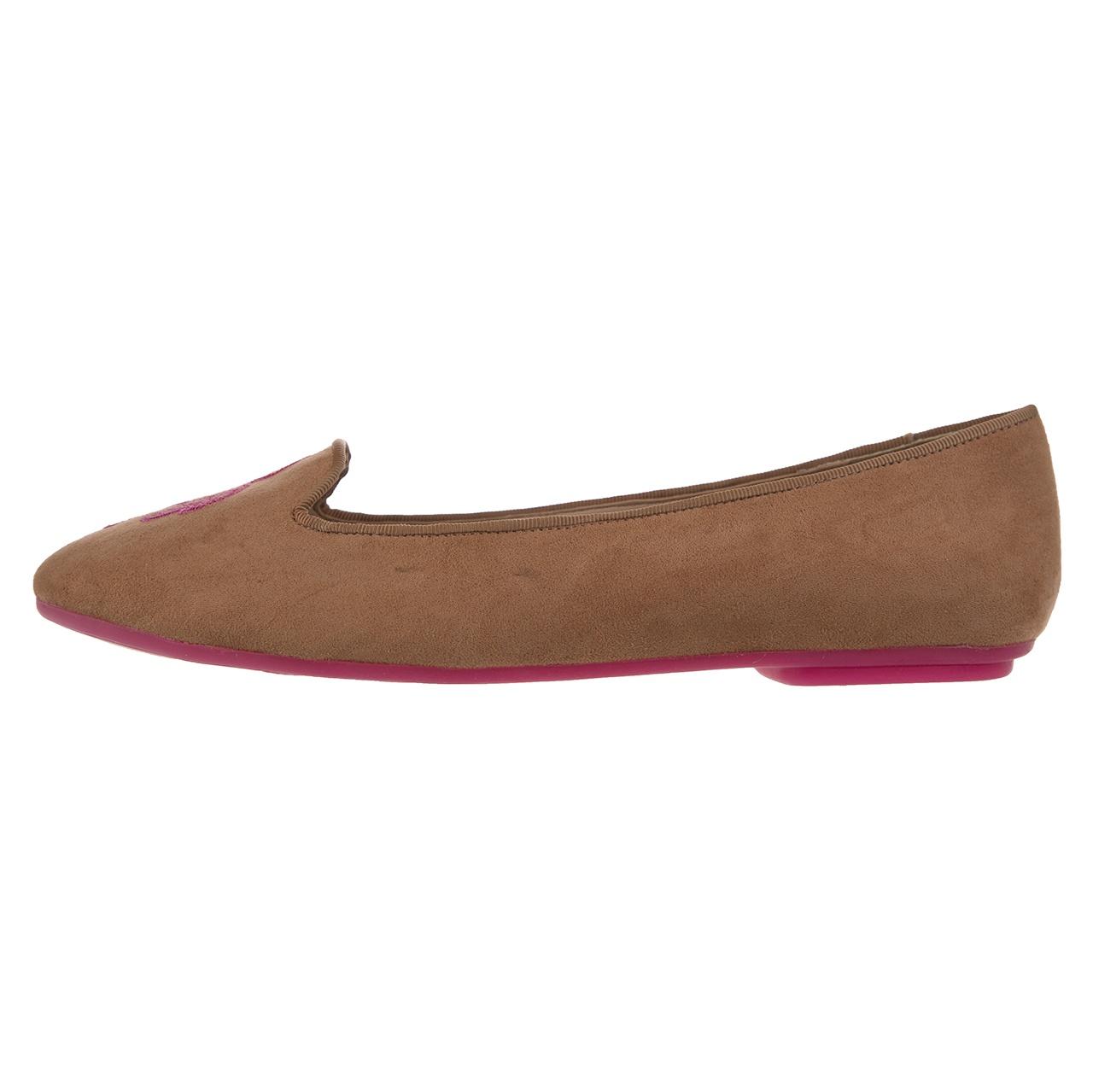 تصویر کفش زنانه چاکلت اسکوبار مدل Hanya S 73 Almond