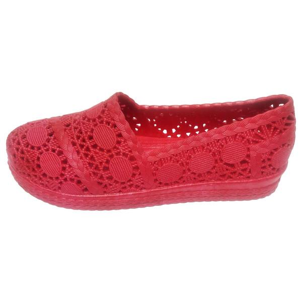 کفش روفرشی ژله ای آبرنگ مدل گیپور کد 005