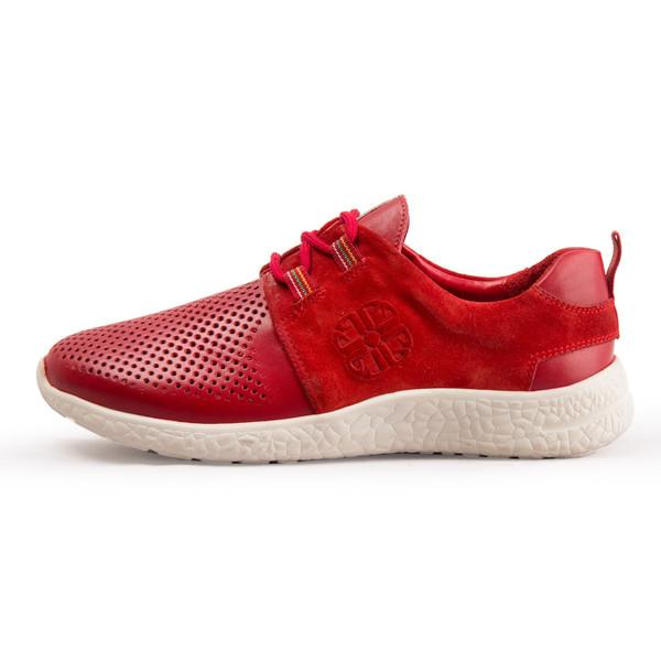 کفش زنانه چرم طبیعی پاندورا مدل W1453 قرمز