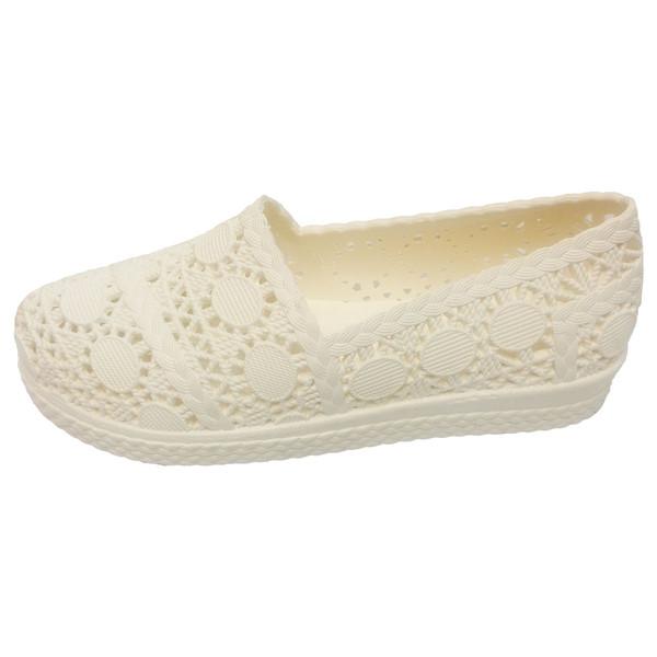 کفش روفرشی ژله ای آبرنگ مدل گیپور کد 002