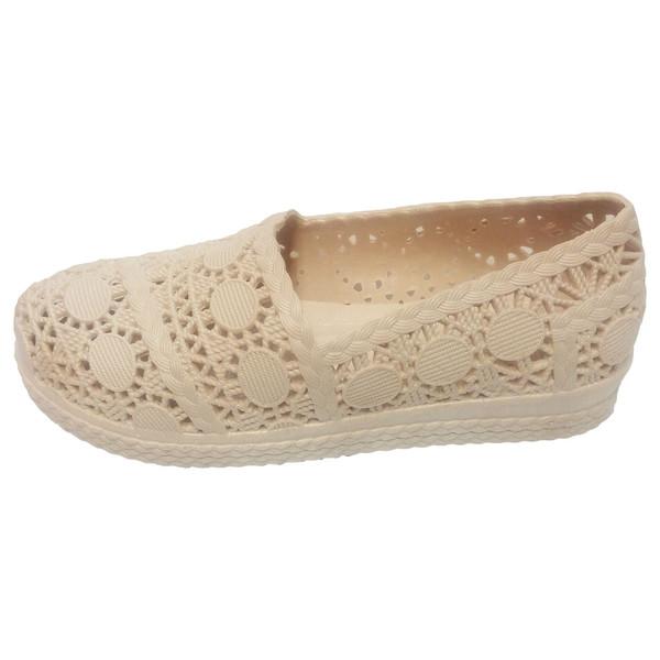 کفش روفرشی ژله ای آبرنگ مدل گیپور کد 010