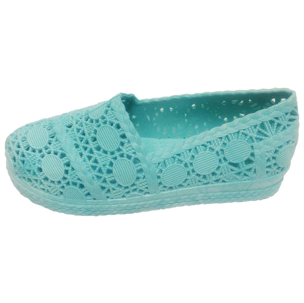 کفش روفرشی ژله ای آبرنگ مدل گیپور کد 014