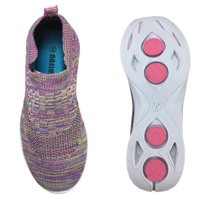 کفش مخصوص پیاده روی زنانه نسیم مدل پاریس کد 2661