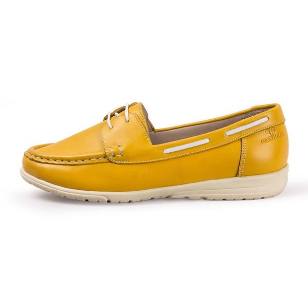 کفش زنانه چرم طبیعی پاندورا مدل w441
