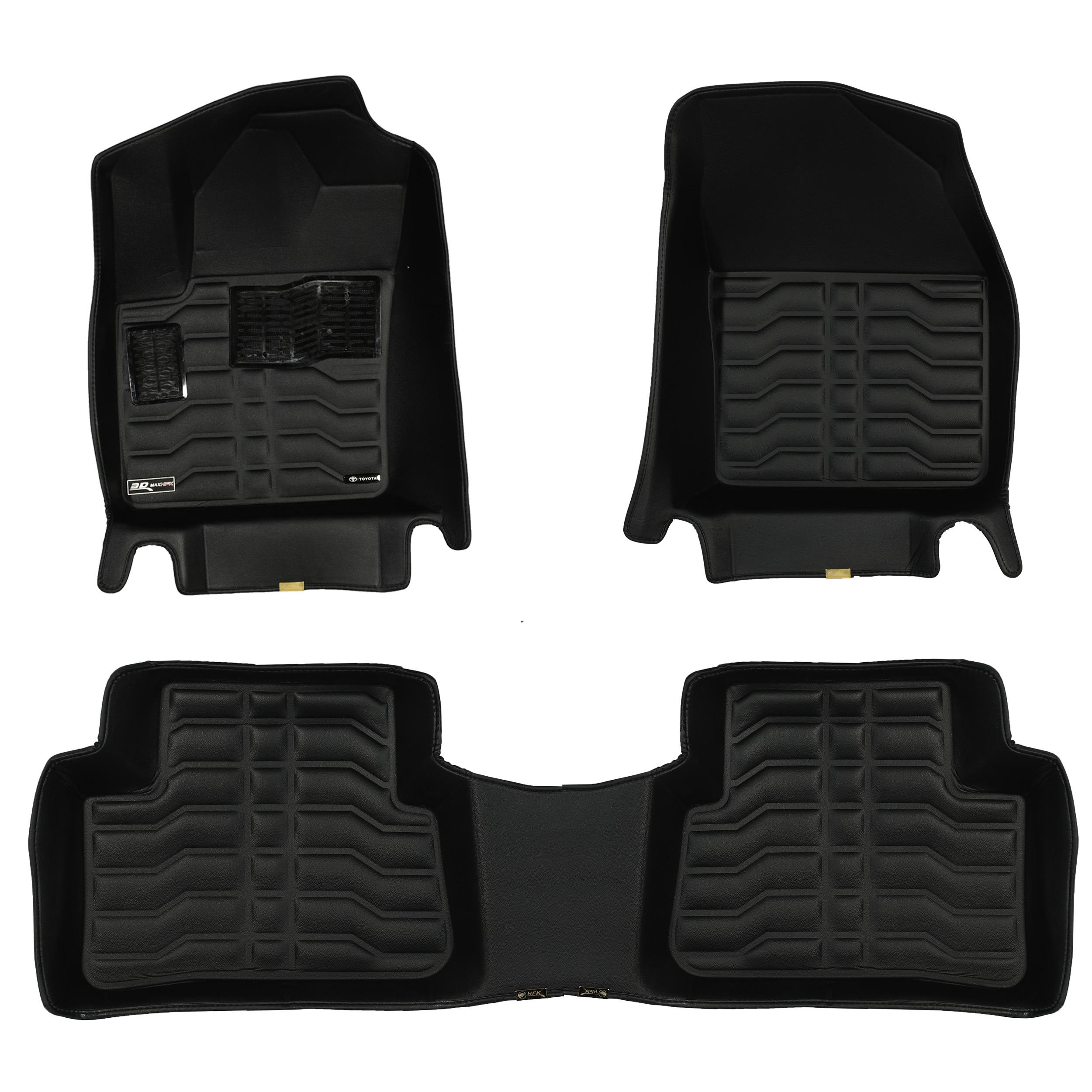 کفپوش سه بعدی خودرو تری دی مکس اچ اف کی مدل HS1125452 مناسب برای تویوتا CHR