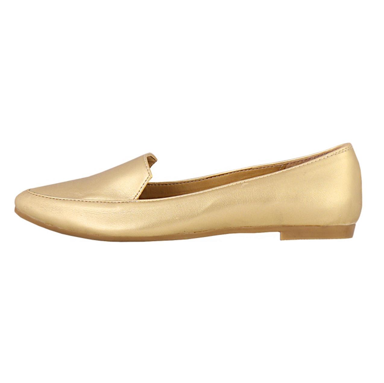 کفش تخت زنانه طرح کلاسیک کد 159012111