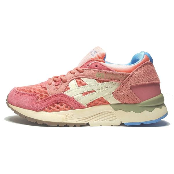 کفش مخصوص پیاده روی زنانه اسیکس مدل Gel Lyte 5 Rose Gold