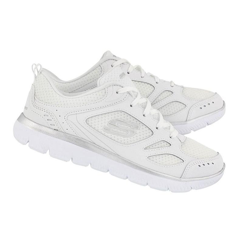 کفش مخصوص پیاده روی زنانه اسکچرز مدل MIRACLE 12982WSL