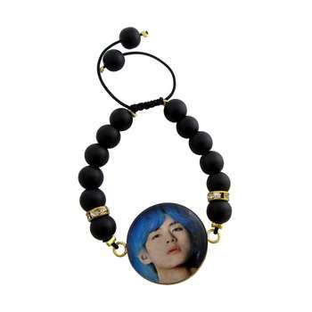 دستبند زنانه طرح BTS - V کد 1004