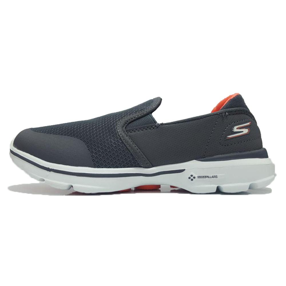 کفش مخصوص پیاده روی زنانه اسکچرز مدل GO WALK 3 GREY WITH