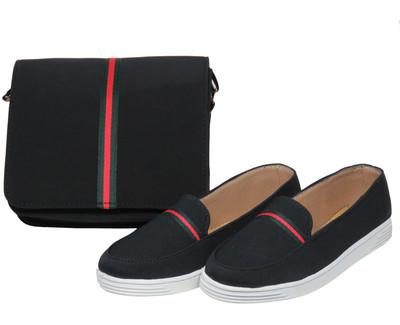 تصویر ست کیف و کفش زنانه پرین طرح گوچی کد PR801