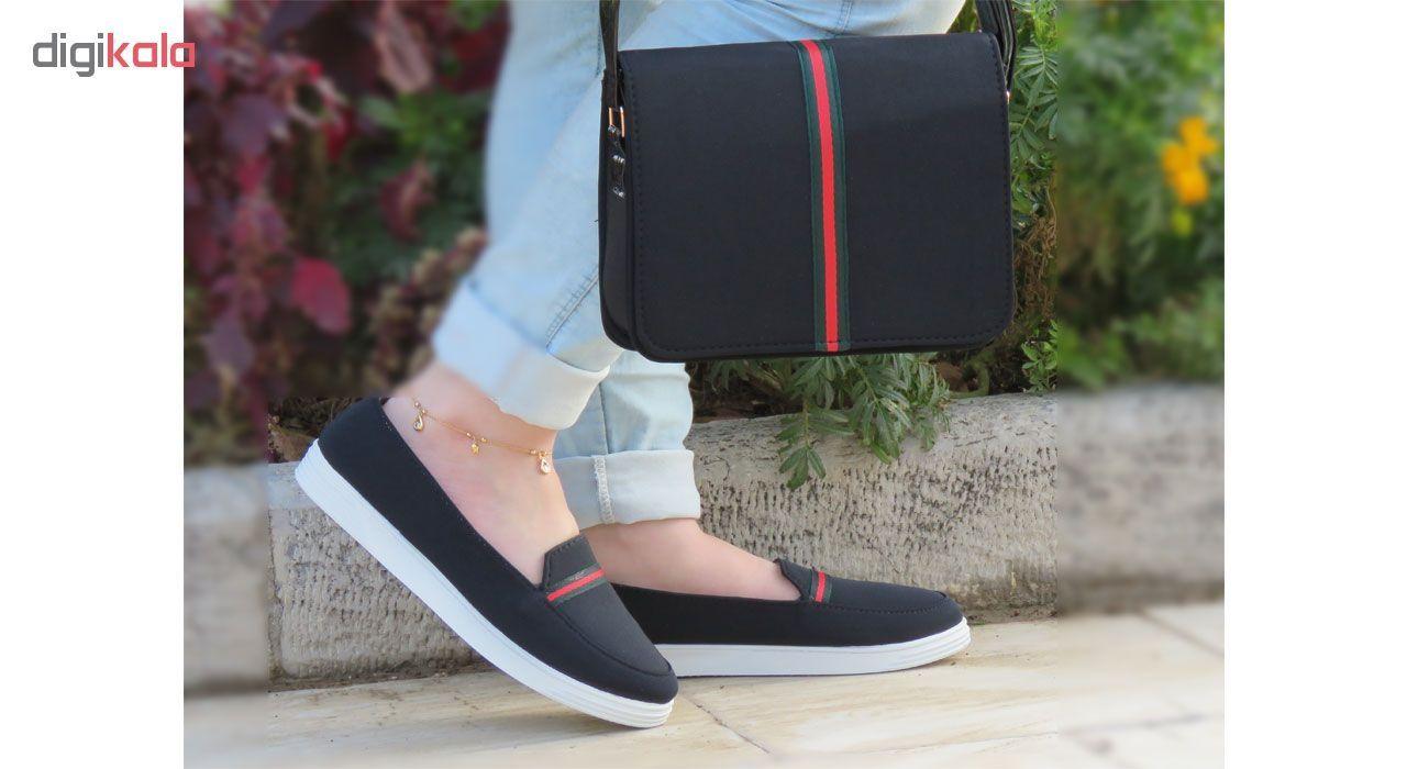 ست کیف و کفش زنانه پرین طرح گوچی کد PR801 main 1 3