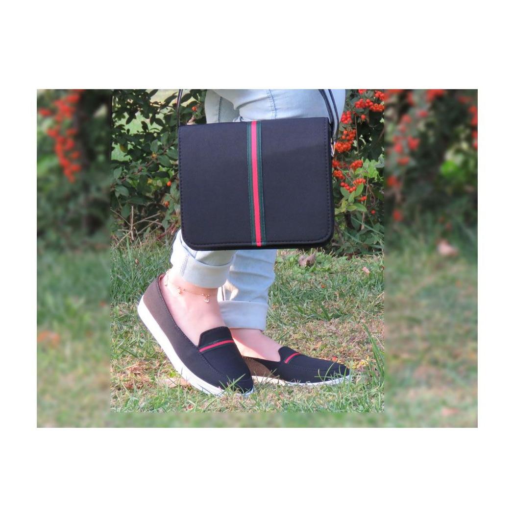 ست کیف و کفش زنانه پرین طرح گوچی کد PR801 main 1 4