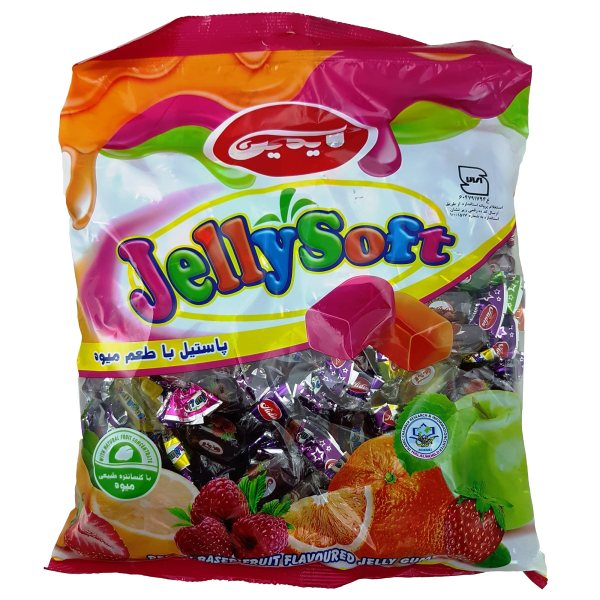 تافی پاستیلی با طعم میوه آیدین مقدار 1 کیلوکرم