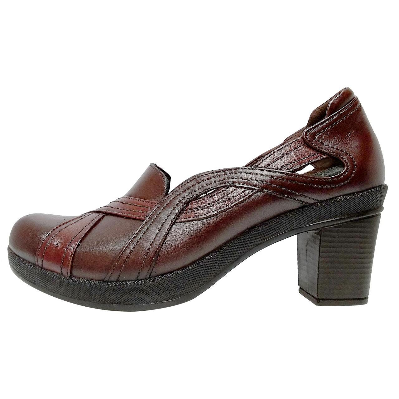 خرید                      کفش زنانه روشن مدل 214 کد 02