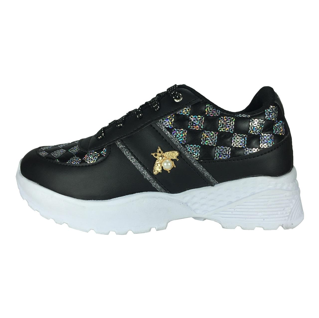 کفش پیاده روی زنانه مدل پولکی B413