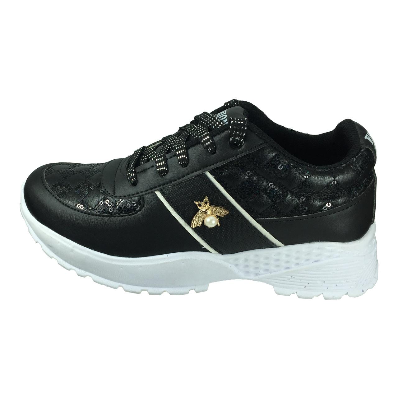 کفش زنانه مدل پولکی B415
