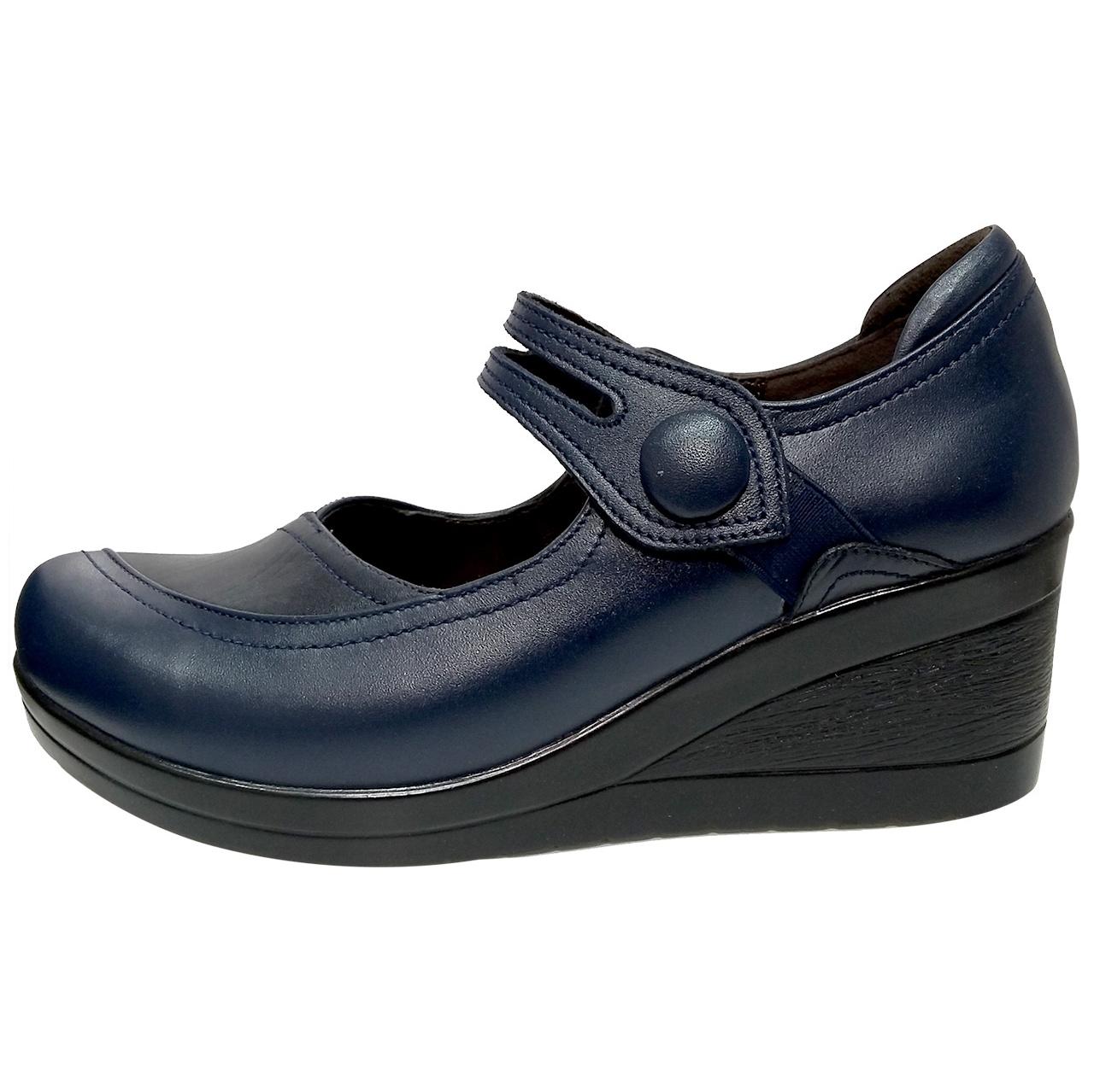 خرید                      کفش روزمره زنانه روشن مدل شبنم کد 03