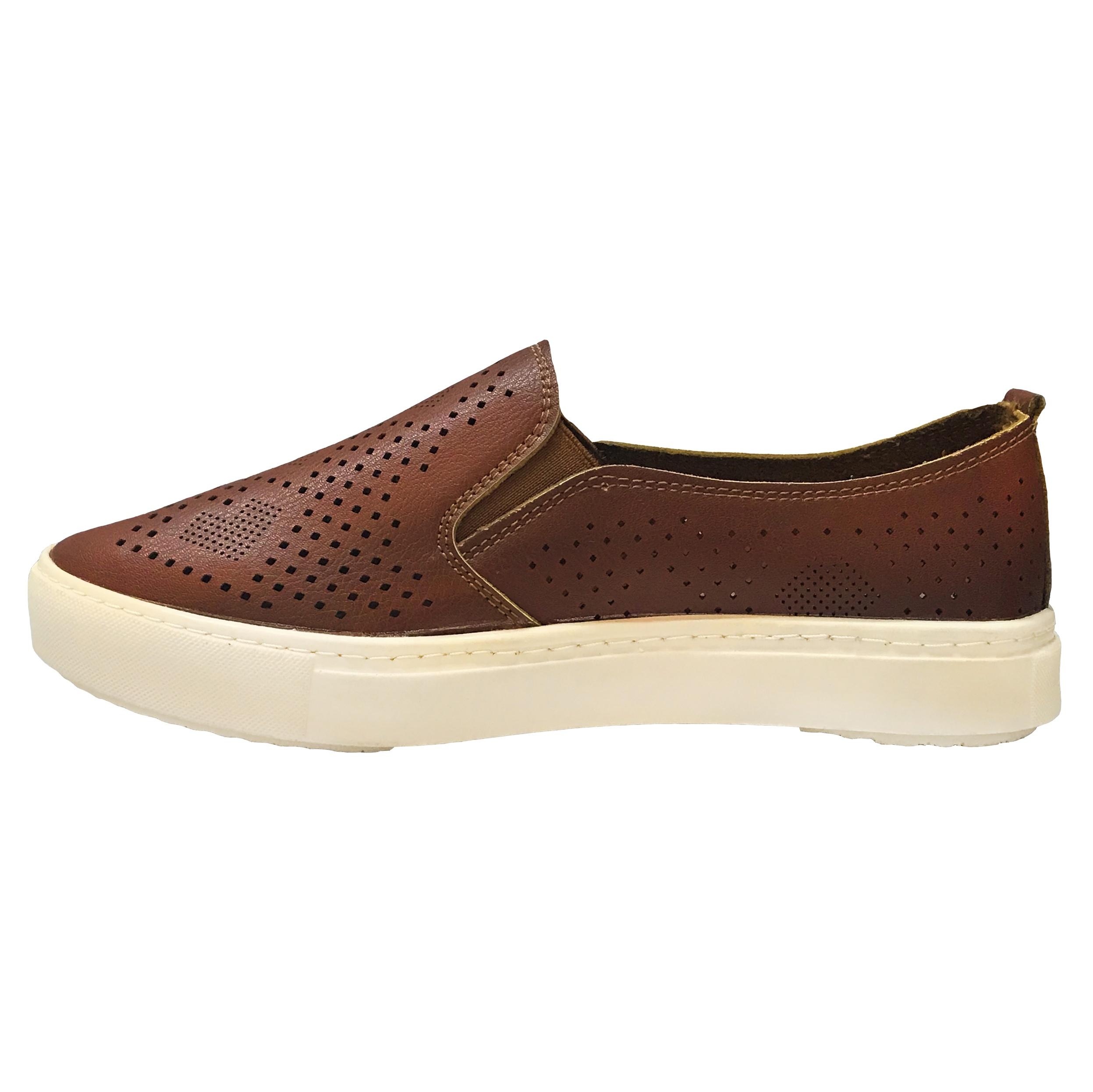 کفش راحتی نه مدل PLMRA-BRN