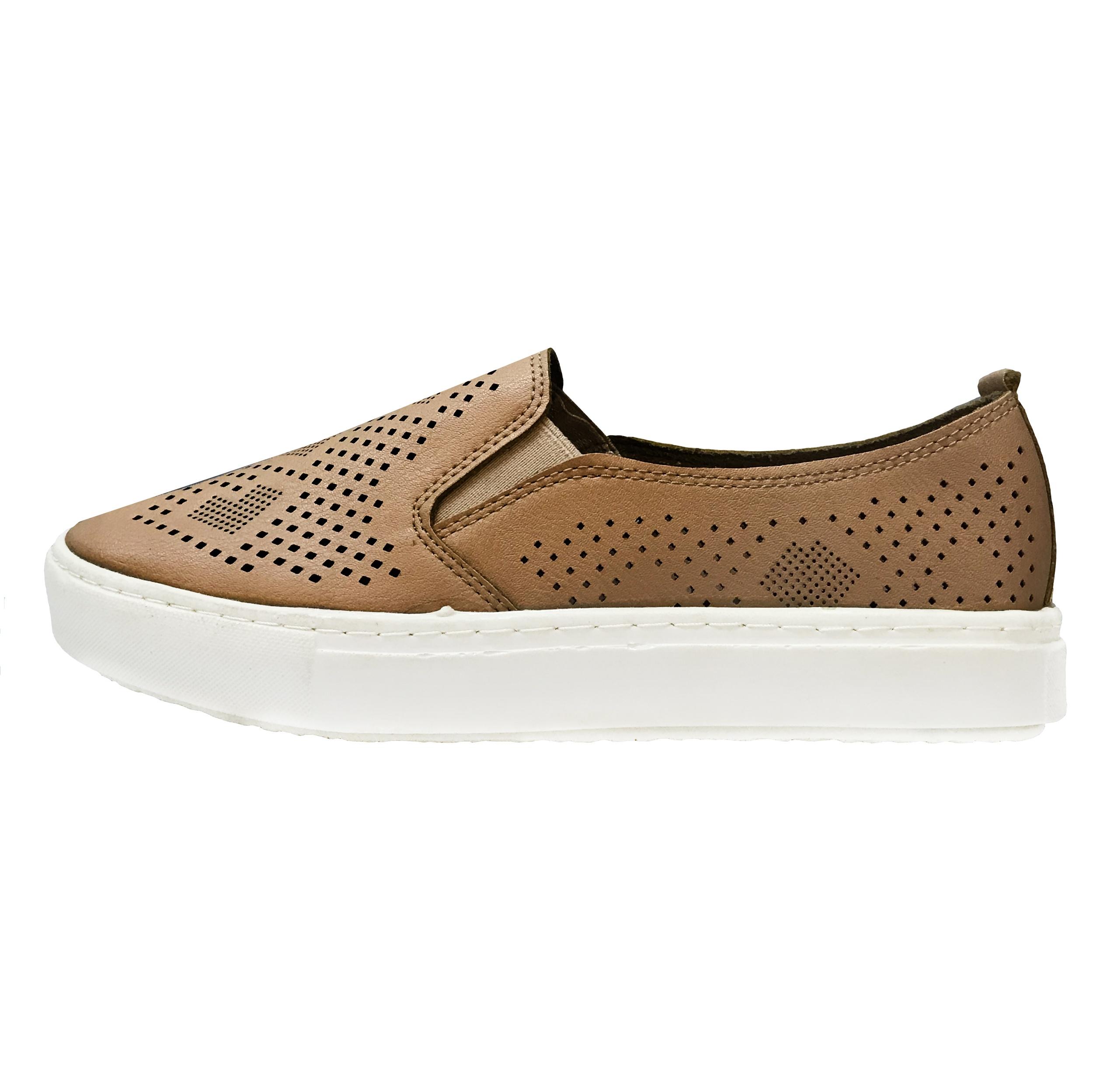 کفش راحتی زنانه مدل PLMRA-L-BRN