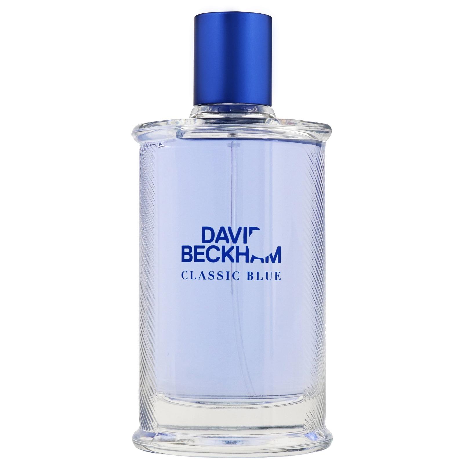 ادو تویلت مردانه دیوید بکهام مدل Classic Blue حجم 90 میلی لیتر